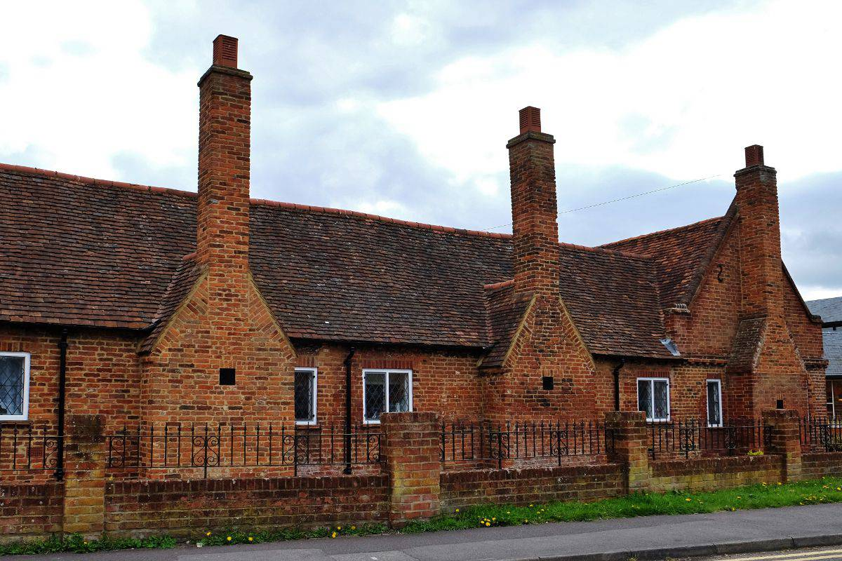 Twyford Berkshire- Alms Houses view