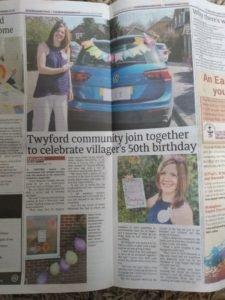 50th Birthday in Lockdown