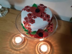 The Povey's Poppy Cake - 1st Sonning Scouts